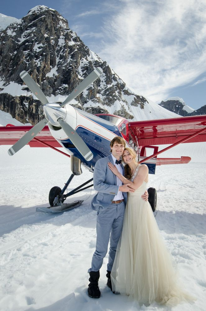 Stunning Post Wedding Photos On An Alaskan Glacier Taken By Mark Gvazdinskas