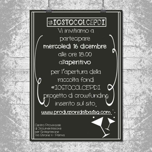 #aperitivo #IOSTOCOLCEPDI #alluvione #Parma