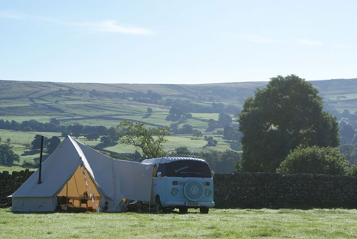 the glawning campervan awning in yorkshire
