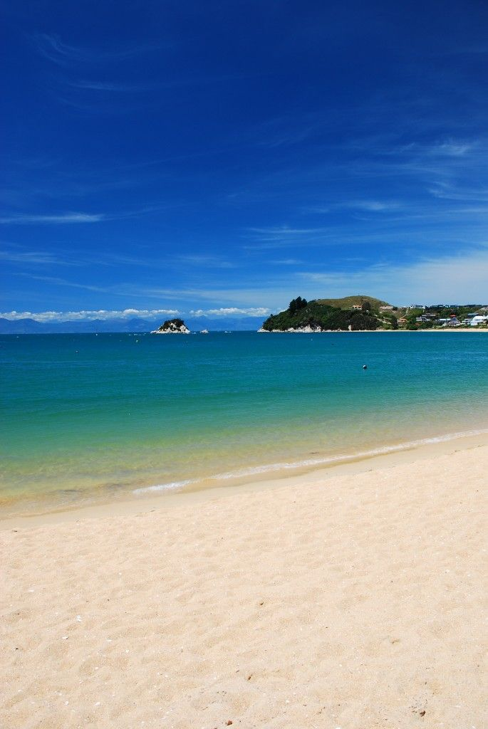 Tahunanui Beach, Nelson, New Zealand. Love it there! Wish we could visit more often.I walk this beach every week in summer. Love it.
