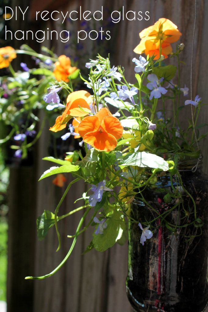 48 best images about upcycled flower pot ideas on for Recycled flower pots