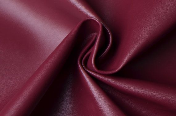 $13.88 Half Yard Wine Faux Leather Fabric,Wine Leather Upholstery Fabric,PU Leather For Making Bags,Purses Leather Fabric(#45)