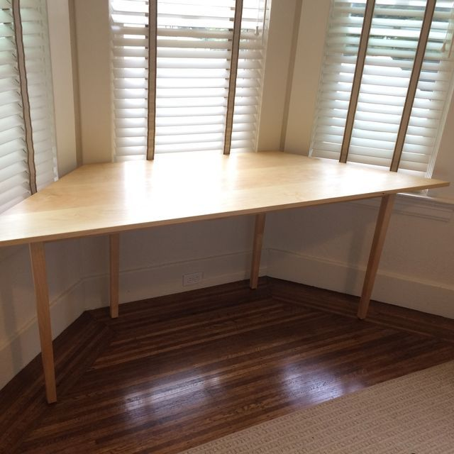 study furniture ideas. shape hard maple material on wall mounted bay naturally designing black computer desk creating window as the study furniture ideas u