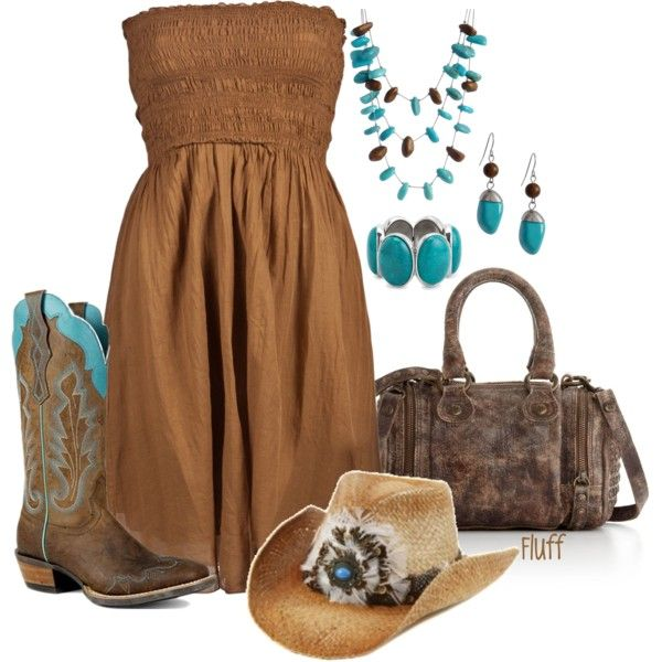 redneck woman, created by fluffof5 on Polyvore