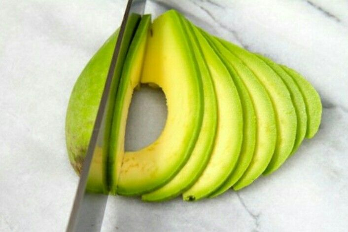 Healthy avocado