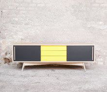 17 best images about deco ann e 50 scandinave on pinterest twists gentlema - Console vintage scandinave ...
