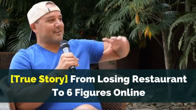 What would you do if you lost everything?  With a burning desire to spend more time with his family after losing everything in the 2008 financial crisis, Michael Martin rose from rock bottom...to rock star marketer.  The interview is FREE, and you can start listening HERE:  http://brandonline.michaelkidzinski.ws/true-story-from-losing-restaurant-to-6-figures-online/