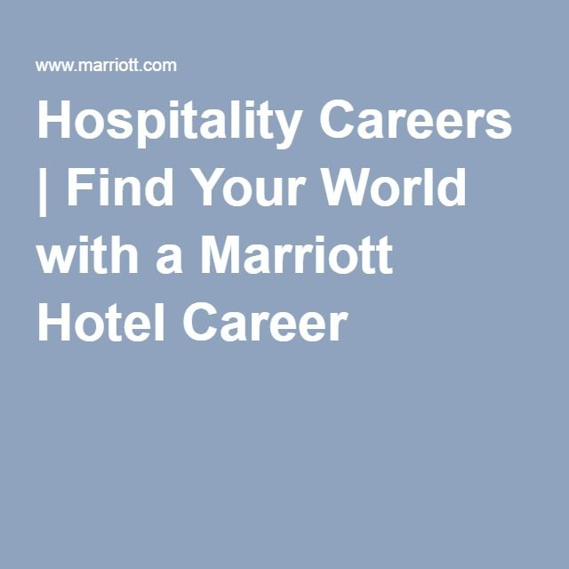 http://intimate-tunes.com/index.html Hospitality Careers | Find Your World with a Marriott Hotel Career