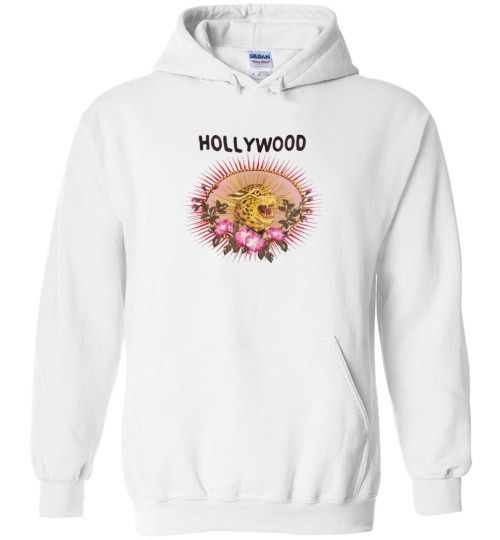 8640c9a1bc4 nice Gucci Print Leopard Hollywood Unisex hoodie