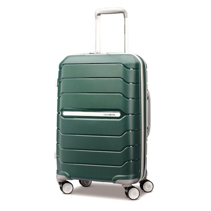 "Samsonite Freeform 21"" Carry-on Spinner, Wheeled Hardside Luggage (One Size, Sage Green)"