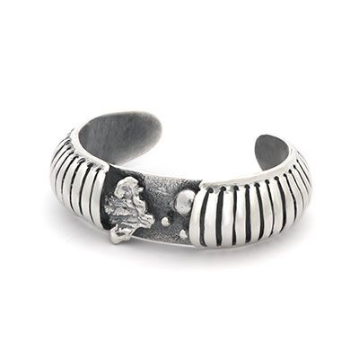 Ruin | Captve Jewellery | sterling silver | oxidized | handmade | bracelet | one of a kind