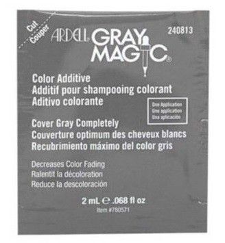 Ardell Gray Magic Color Additive 0.068 oz $1.49    Visit www.BarberSalon.com One stop shopping for Professional Barber Supplies, Salon Supplies, Hair & Wigs, Professional Product. GUARANTEE LOW PRICES!!! #barbersupply #barbersupplies #salonsupply #salonsupplies #beautysupply #beautysupplies #barber #salon #hair #wig #deals #graymagic #color #additive