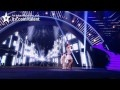 """A 17-year-old and her dancing dog, Pudsey, impress judge Simon Cowell, and head for the finals of """"Britain's Got Talent."""""""