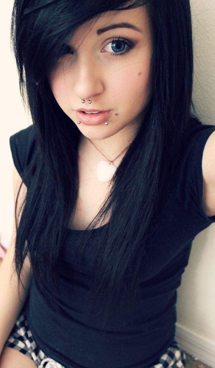 Young scene girl