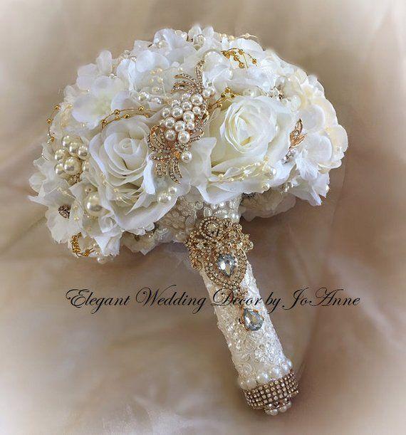 Hortensia y piedras rosas personalizadas, ramo de novia, acaparamiento de ramo de novia …