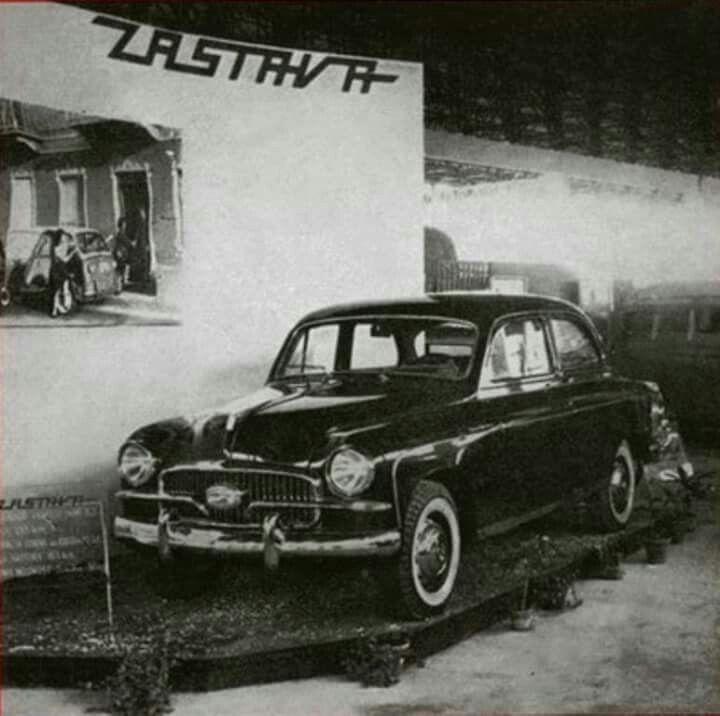 Zastava 1400 BJ from 1955. First mass production car in Yugoslavia.