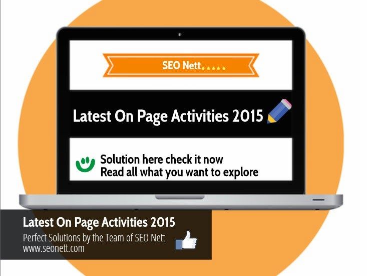 Find the latest #OnPageOptimization Activities and techniques to know more about how to optimize your website.