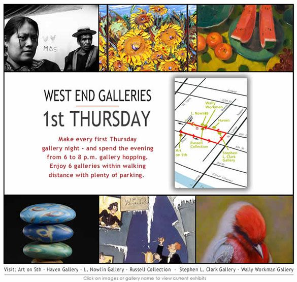 First Thursday - West End Galleries