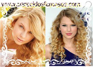 Parecidos con famosos: Taylor Swift sin maquillaje
