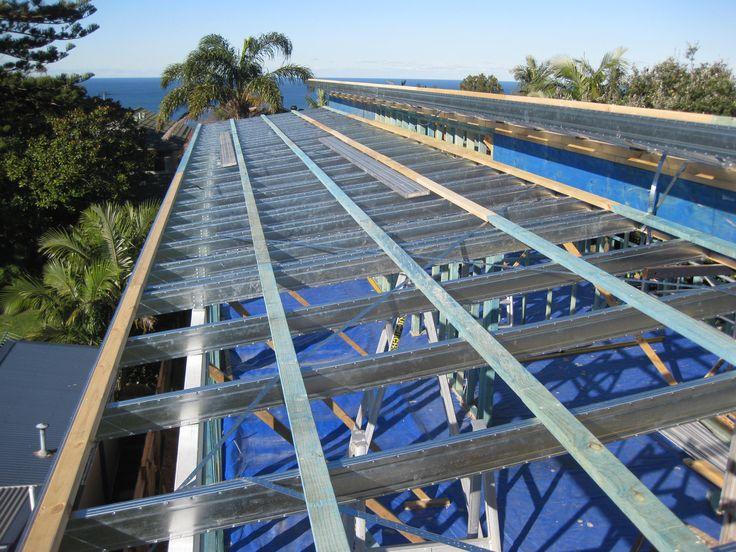Mobile Home Floor Steel Framin