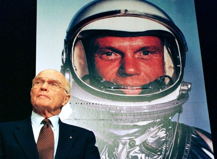 RIP John Glenn (1921 - 2016) The former senator and first American to orbit the Earth has died at 95.