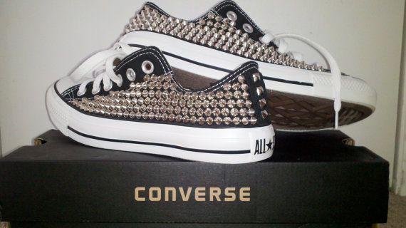 Custom Studded Converse