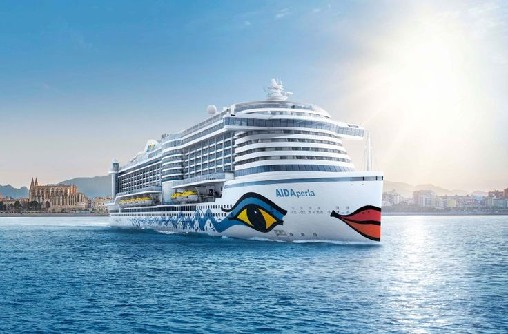 """Aida Perla"": Der Neuzugang der Aida-Flotte wird ab Herbst 2017 ab Palma de..."