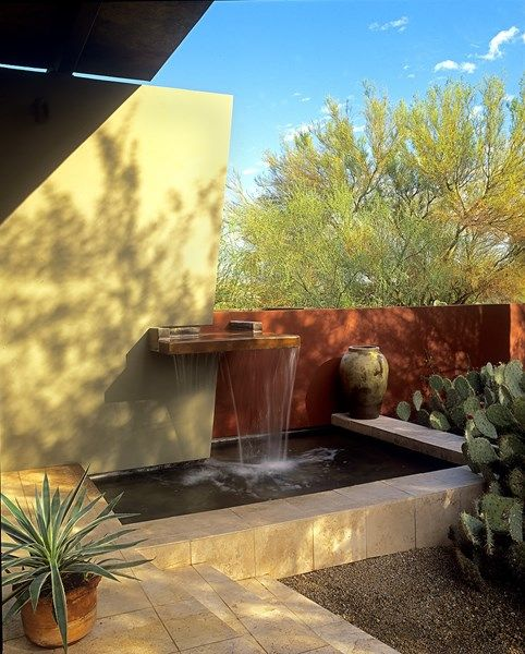 The 152 best Garden water walls images on Pinterest | Water ...