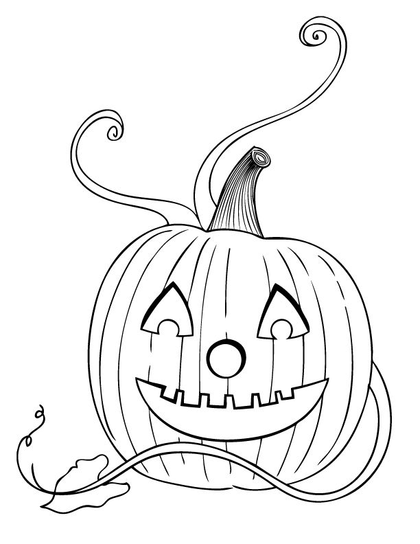 coloring pages - Pictures Of Halloween Drawings