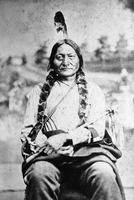 Sitting Bull, Great Chief of the Sioux