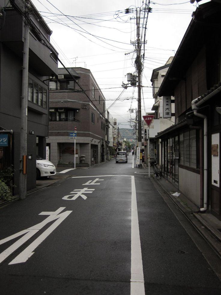 Street in Kyoto by torristria.deviantart.com on @deviantART