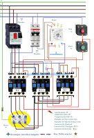 Esquemas eléctricos: Esquema eléctrico arranque estrella triangulo   St...