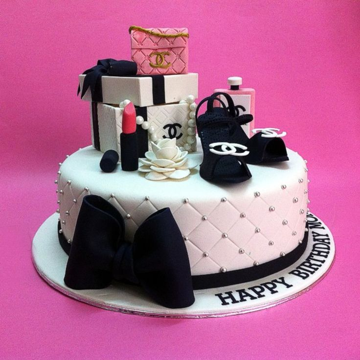 Chanel Gift Sets Birthday Cakes on Cake Central