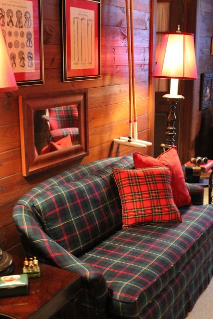 800 best images about ralph lauren and equestrian style for Tartan living room ideas