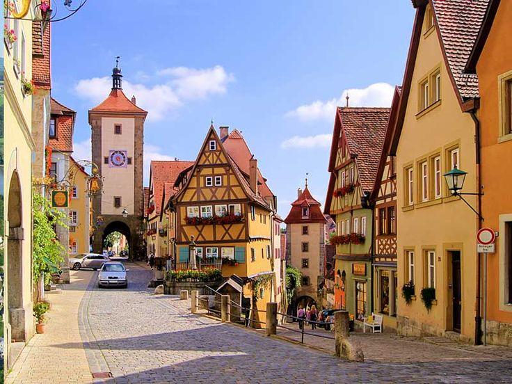 Beieren - Vakantie- en themaroutes - De romantische route