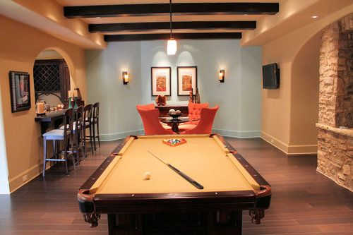 Man Cave Pool Table Bar : Best images about man cave on pinterest play pool