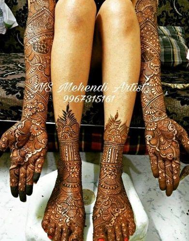 "Photo #8 from NS Mehendi Artist ""Portfolio"" album"