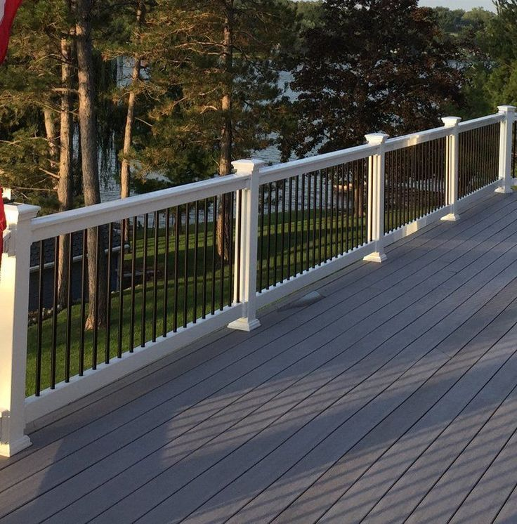 Beaumont Straight Railing In 2020 Patio Deck Designs Building A Deck Outdoor Deck