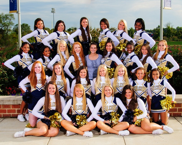 cheer team pictures | Our Lady of Good Counsel High School - Olney, MD: Teams & Schedules