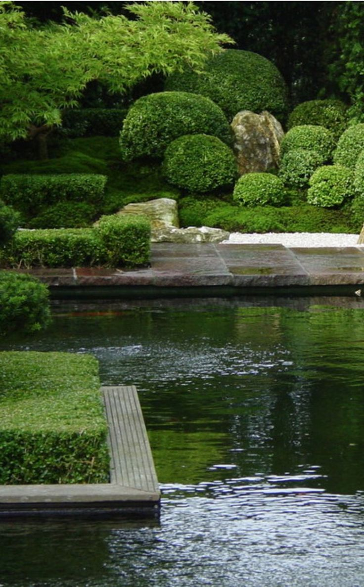 252 best garden mounds images on pinterest japanese for Formal japanese garden