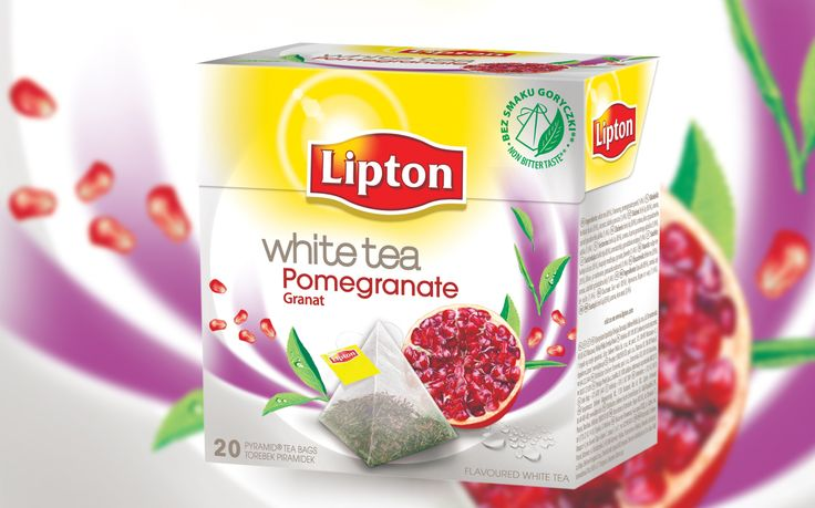 Lipton White Tea Granat