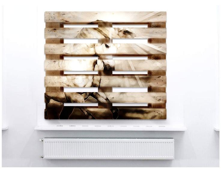 Crate Pallet Light - Green Design - Inner Design