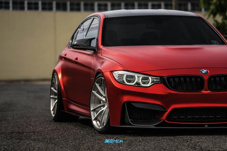 #BMW #series #red