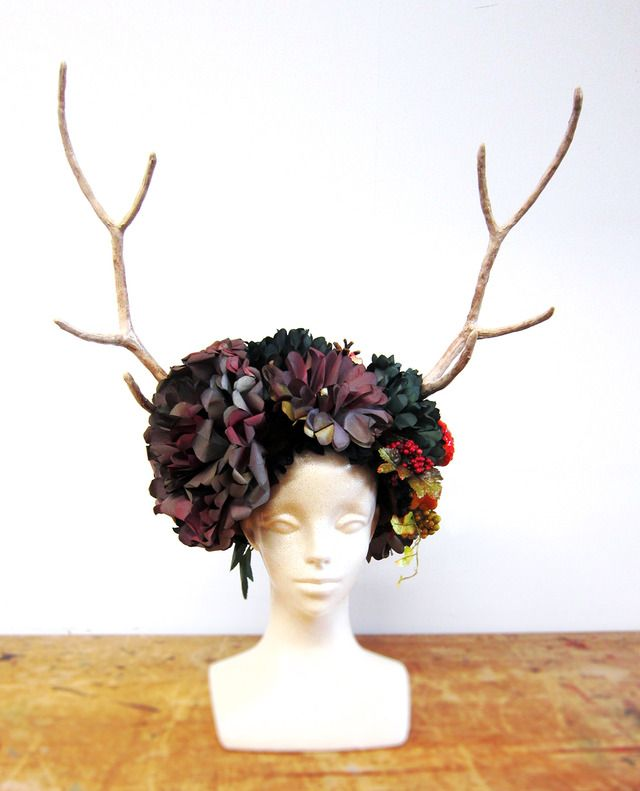 追想 -鹿の角のヘッドドレス-