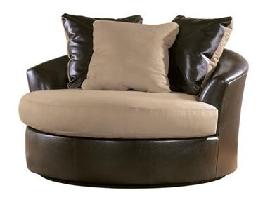 Shop for signature design oversized swivel accent chair for Oversized occasional chairs