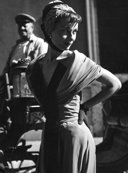 Audrey Hepburn Rome, 1953.