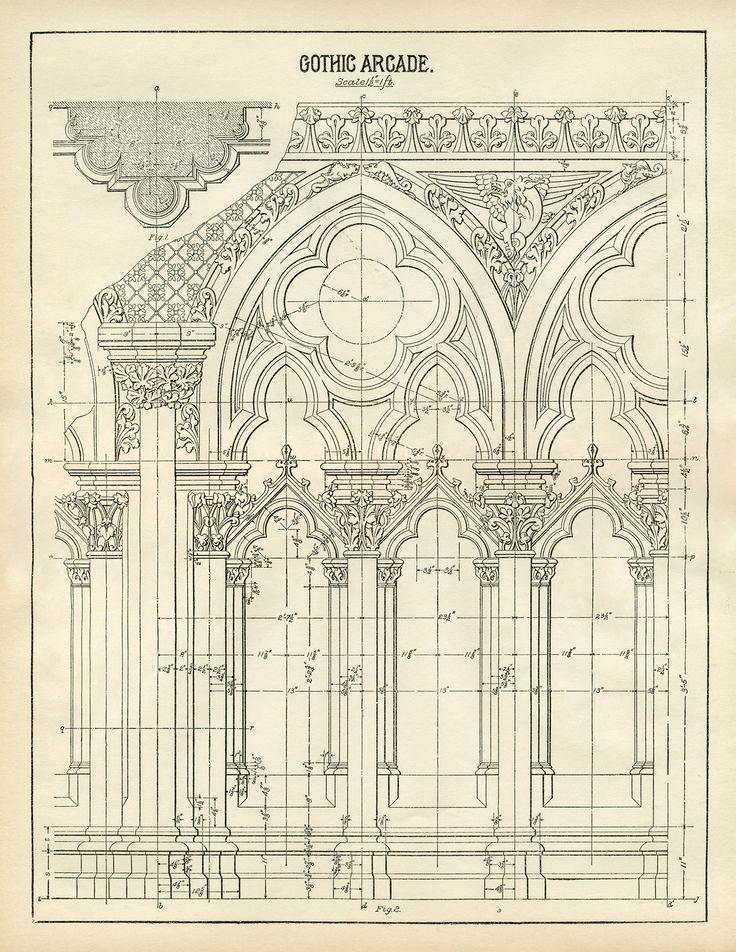 Gotisches Maßwerkfenster