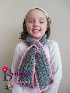 Off the HOOK!!: Little One's Keyhole Scarf - Free PDF Download