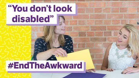 End the Awkward   Disability charity Scope UK