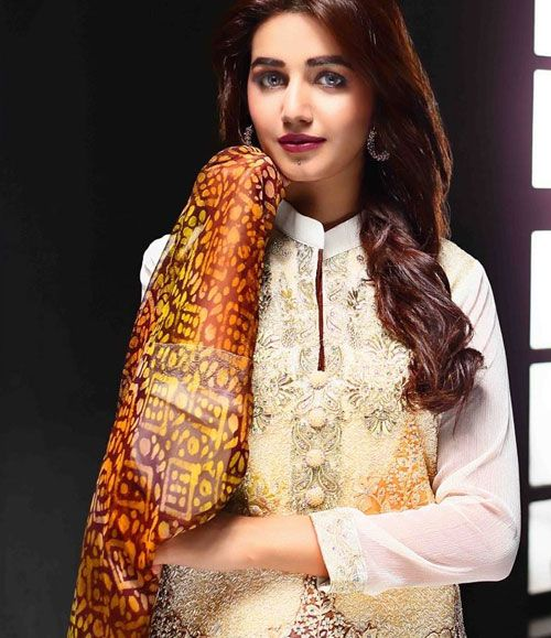 Tawakkal Artistry Chiffon Suit Collection 2015 3937_B